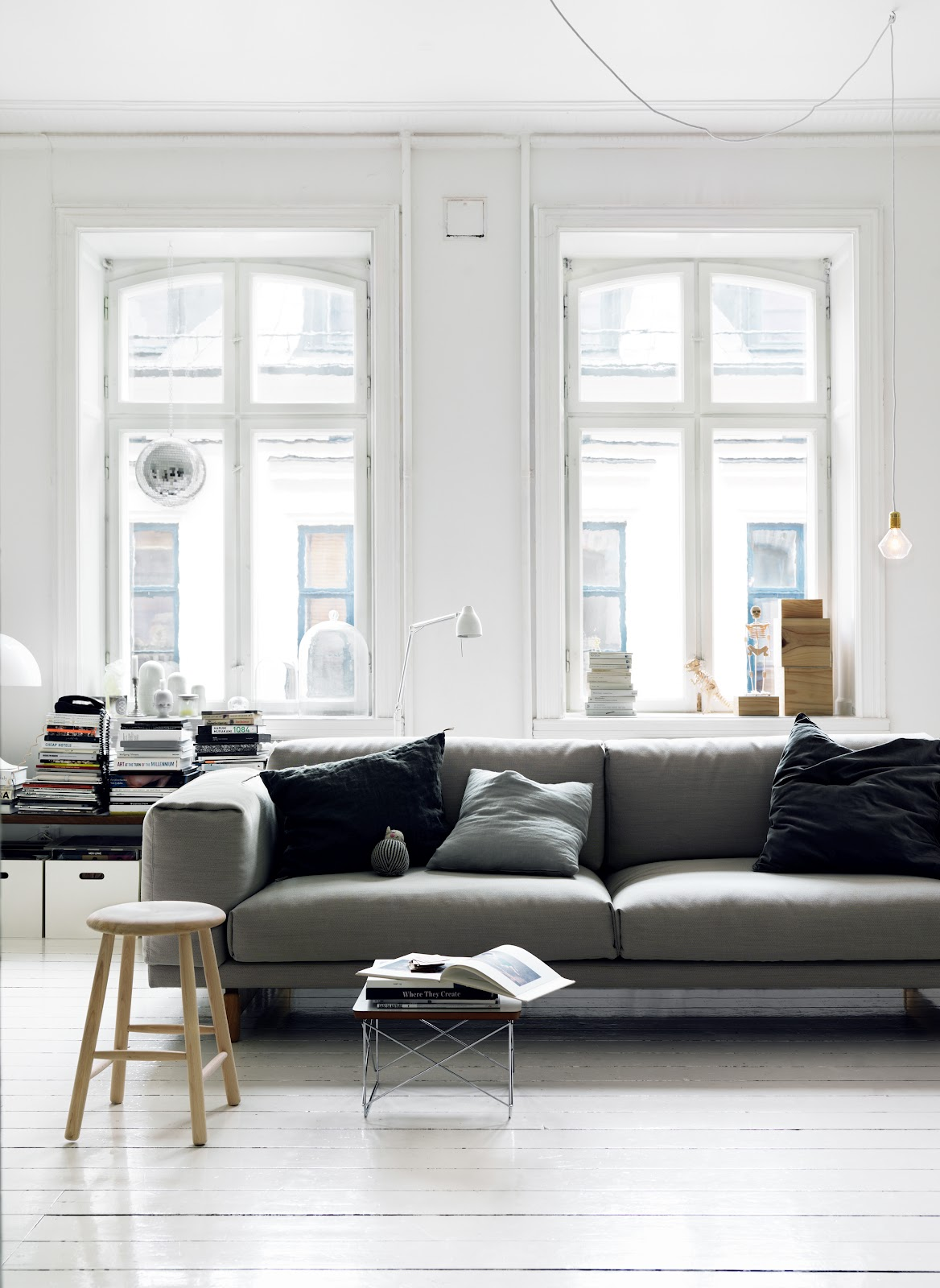 This Beautiful Malmo Home Of Interior Stylist Emma Persson Lagerberg Was  Recently Featured In Elle Decoration. Simple, Scandinavian And Just The  Right ...