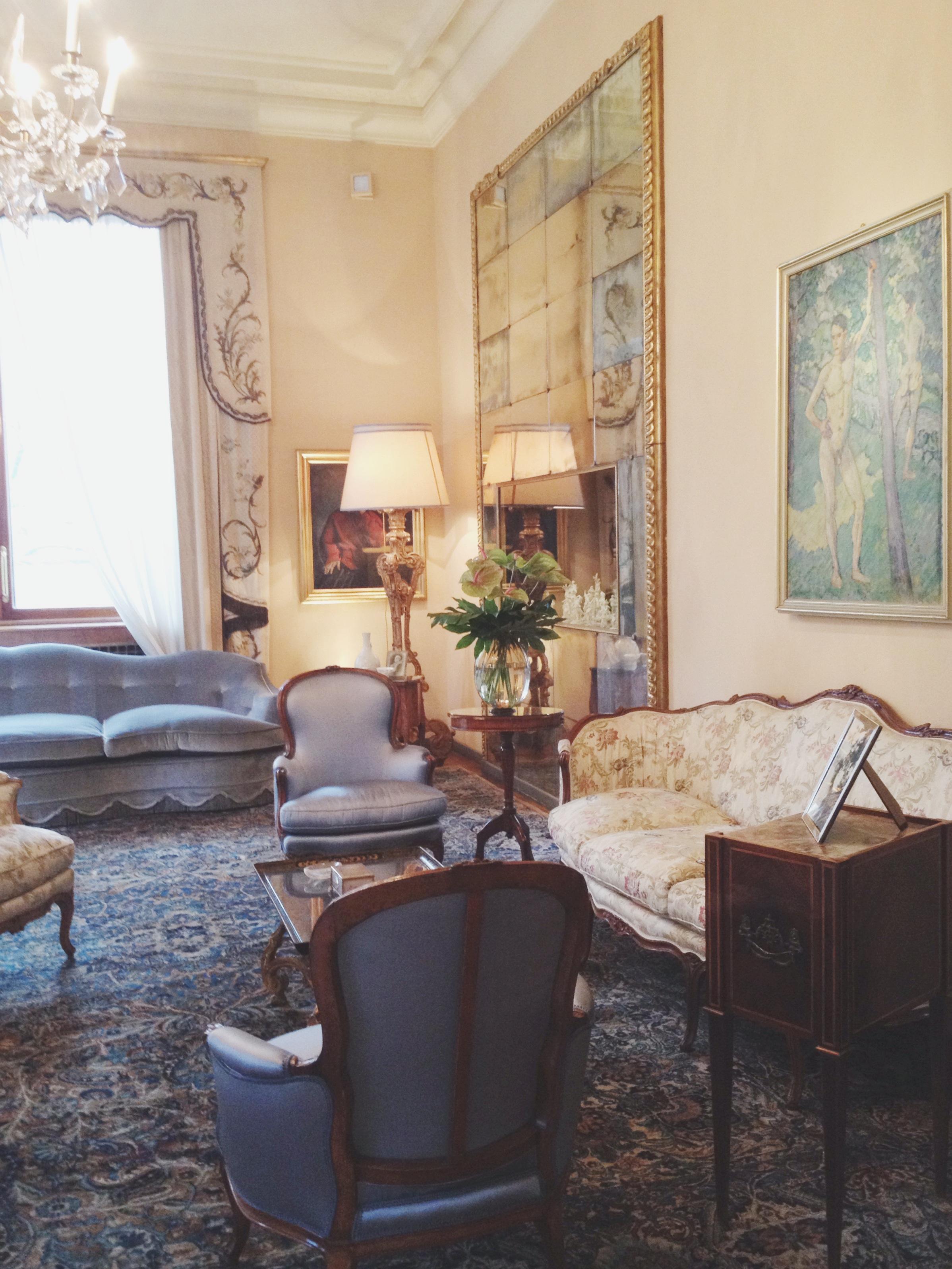 Villa necchi campiglio milan by piero portaluppi cate for Villa mozart milano