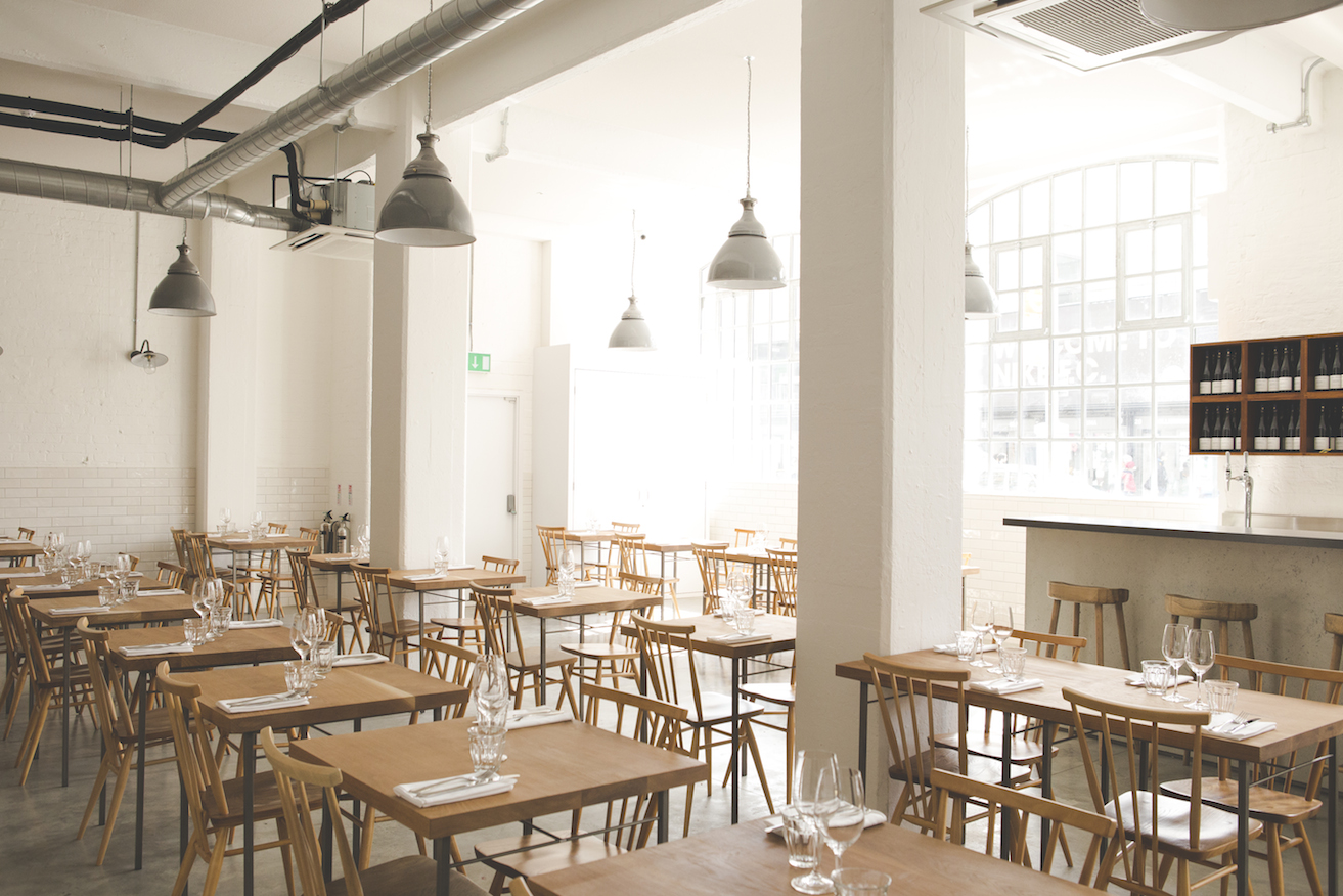 New restaurant lyle s opens in shoreditch s tea building for Restaurant design london