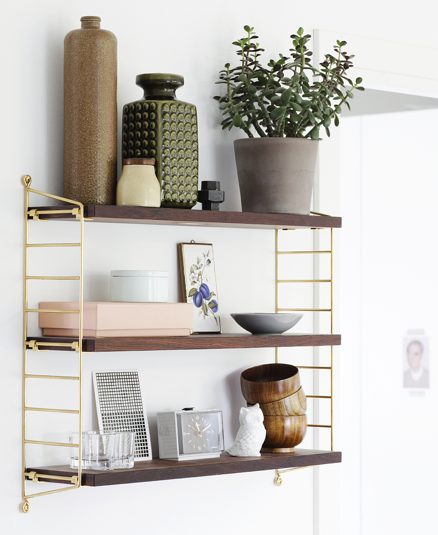 Kitchen Shelf Inspiration: Inspiration: Nils Strinning's String Shelving