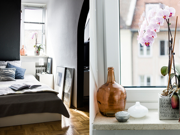 i wish i lived here the munich home of happy interior. Black Bedroom Furniture Sets. Home Design Ideas