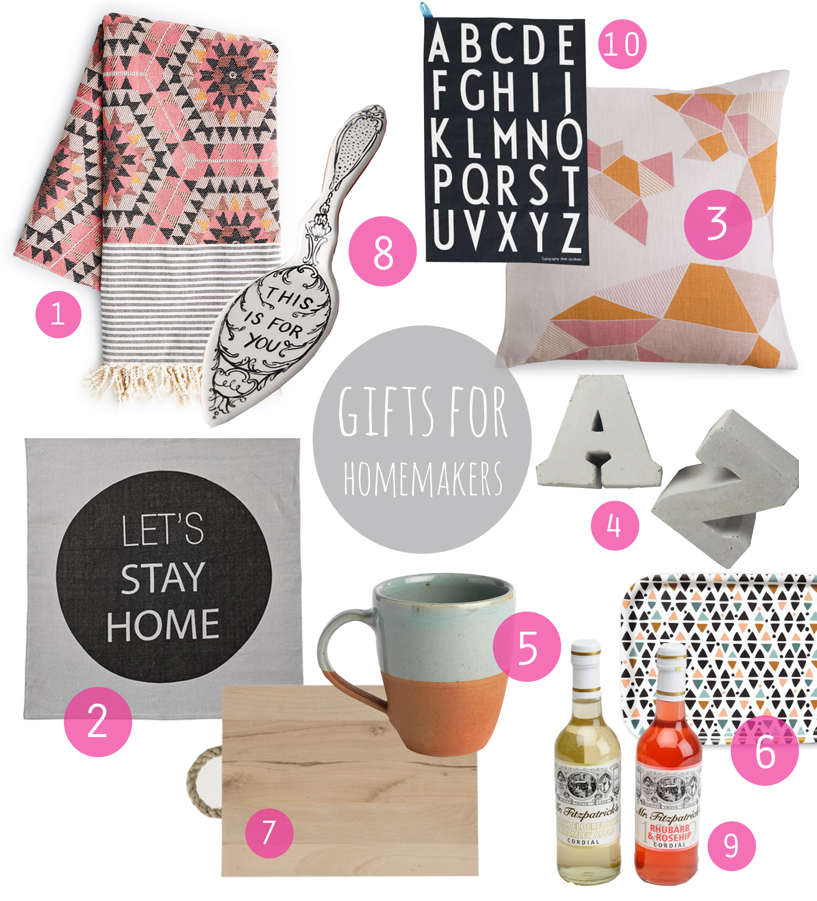 Christmas gifts for homemakers