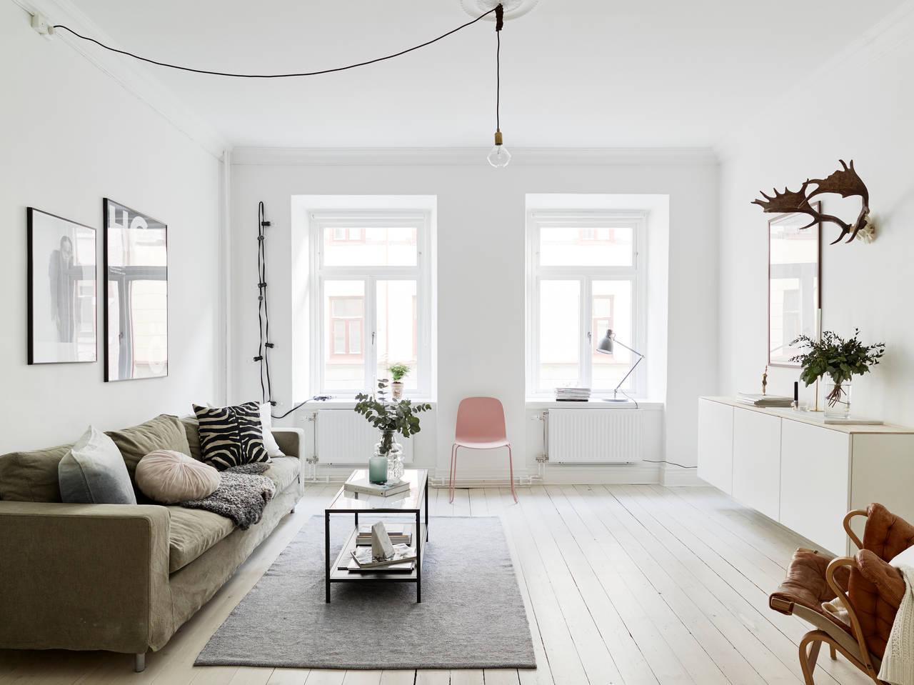 I Wish I Lived Here A Clean White Swedish Home Cate St