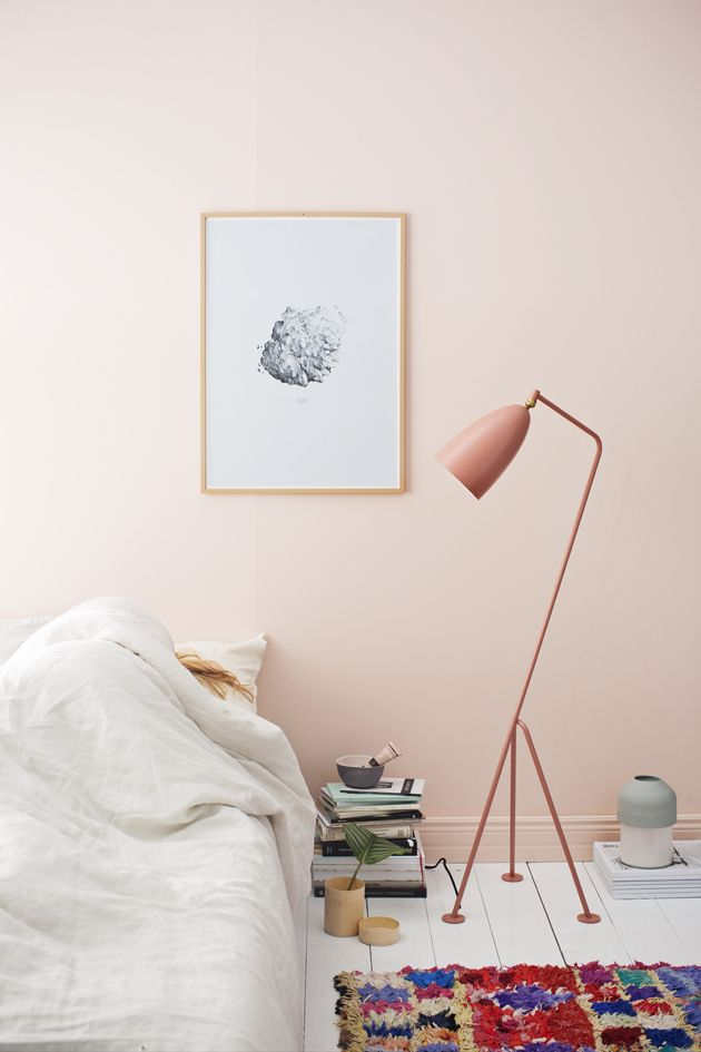 Interior trend soft pink walls cate st hill Paint wall colours